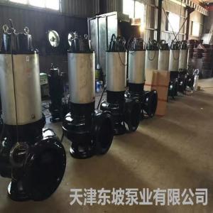 供應350QSZ雪橇式潛水軸流泵