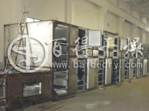 高效节能DW3-2×12型多层网带干燥机