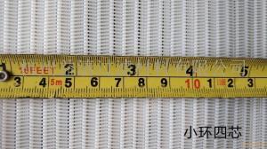 聚酯螺旋輸送過濾網小環、中環、大環厚度和環距差距有。
