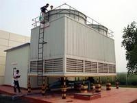 石家庄冷却塔生产厂家/逆流式玻璃钢冷却塔价格/方形高温型 产品图片