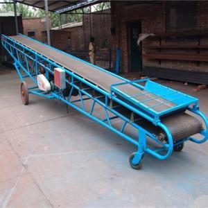 装卸皮带输送机 设备特点
