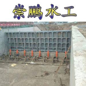 多功能液压翻板闸门维修方便
