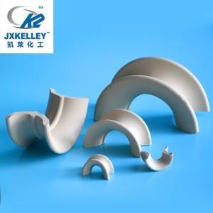 矩鞍环填料规格型号 凯莱矩鞍环陶瓷填料批发