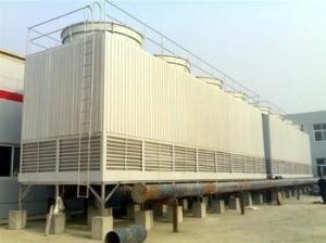 北京玻璃钢冷却塔/国纤/标准型方形逆流式玻璃钢冷却塔厂家价格 产品图片