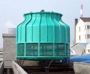 石家庄冷却塔生产厂家/逆流式玻璃钢冷却塔价格/方形标准型 产品图片