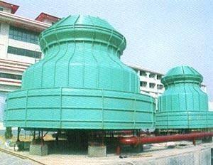 石家庄冷却塔生产厂家/圆形逆流式玻璃钢冷却塔价格 产品图片