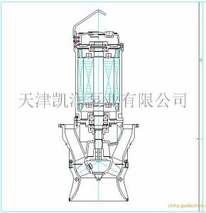 凱潤泵業漂浮式潛水軸流泵詳細說明