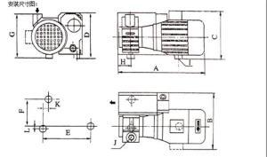 上海日上牌20立方真空泵吸塑机吊具夹具印刷机精雕机雕刻机