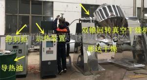 导热油加热型SZG-750L双锥回转真空干燥机 彬达干燥