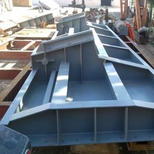 钢结构闸门 液压升降钢闸门厂