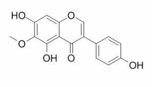 鸢尾黄素 CAS:548-77-6