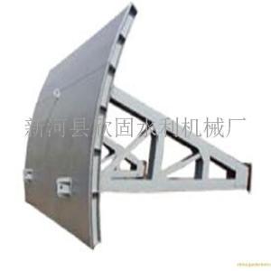 弧形钢闸门型号 人字型钢闸门