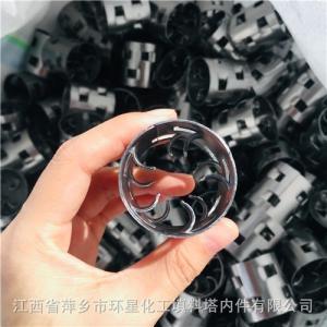 四川空分空冷塔鲍尔环规格50*50金属鲍尔环填料不锈钢304\316L鲍尔环 产品图片
