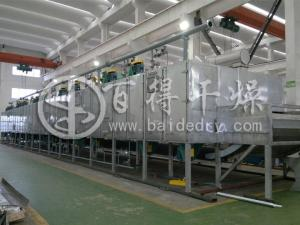 智能化链板式网带干燥机