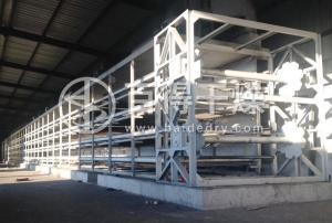 节能环保型煤烘干机  新型翻板带式烘干机