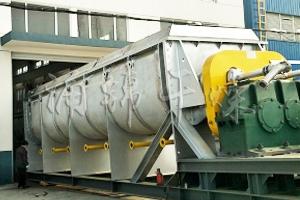 碳酸钙专用空心桨叶干燥机