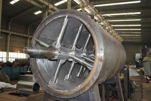 2000型真空耙式烘干机|2立方耙式干燥机