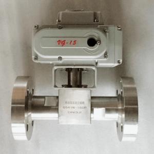 电动高压球阀 产品图片