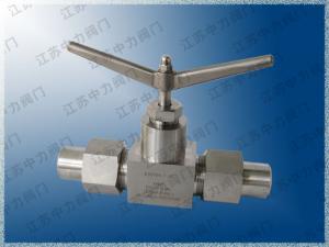锻钢焊接天然气高压截止阀