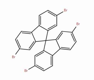 2,2',7,7'-四溴-9,9'-螺二芴 CAS号128055-74-3 现货优势供应 产品图片