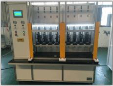 胶管多工位试压机|制动管多工位压力检测台