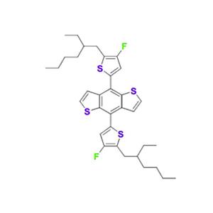 4,8-双[5-(2-乙基己基)-4-氟-2-噻吩基]苯并[1,2-b:4,5-b']二噻吩