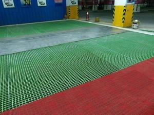 污水厂用玻璃钢格栅板,玻璃钢格栅板优点介绍
