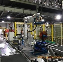 200公斤大鐵桶/化工桶機器人智能貼標機