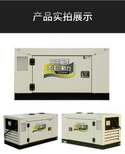 12千瓦便携式三相柴油发电机