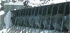 廠家生產氣盾壩 氣動盾形閘門價格 結構原理