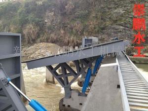 低轴液压翻板坝维护与使用