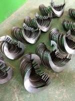 水泥用螺旋葉片A阜城水泥用螺旋葉片生產廠家A水泥用螺旋葉片生產