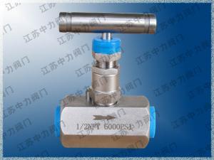 焊接式不銹鋼超高壓針閥