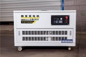 12千瓦汽油发电机每小时用油