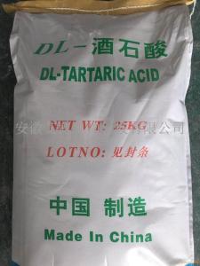 DL-酒石酸(无水品) 工业级