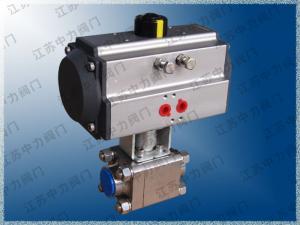 焊接式氣動高壓球閥Q661N