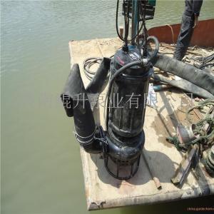 12寸300口徑帶攪拌潛水抽沙泵