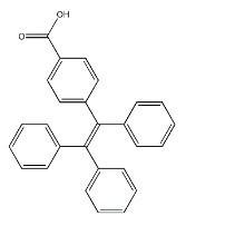 4-(1,2,2-三苯基乙烯基)苯甲酸,99%纯度现货,CAS:197153-87-0