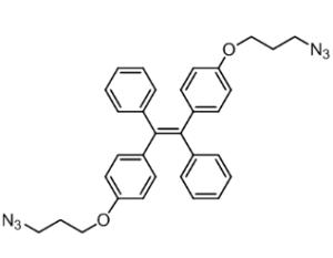 [1,2-二苯基-1,2-二(4-叠氮丙氧基苯基]乙烯,CAS:1883422-14-7,实验室直供