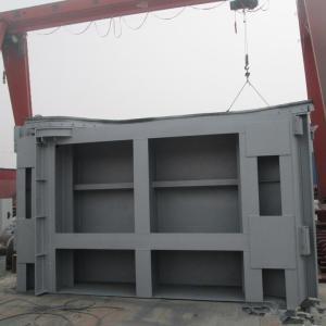 方形钢制闸门视频
