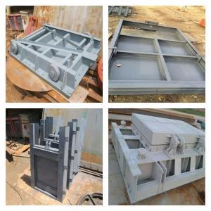 现货销售钢制闸门,平面定轮钢制闸门质量
