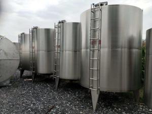 出售二手不锈钢储罐1立方-60立方