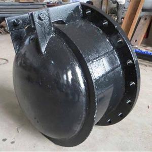 吉林优质铸铁拍门价格/节能型侧开式拍门厂家报价