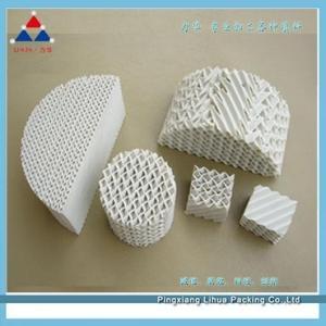 陶瓷规整波纹填料 高品质供应