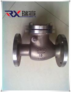 專業生產2205雙相鋼止回閥 溫州廠家