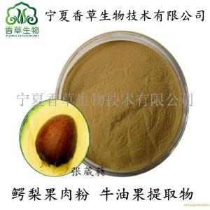 宁夏鳄梨果原浆 牛油果肉粉 牛油果肉活性肽粉  油梨原汁 产品图片