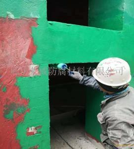 环氧玻璃鳞片胶泥 环氧树脂胶泥 污水池防腐施工
