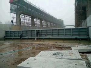河道景观钢坝闸门 倾倒式闸门的主要硬件