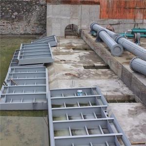 钢结构液压翻板坝