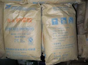 无水柠檬酸CAS:77-92-9